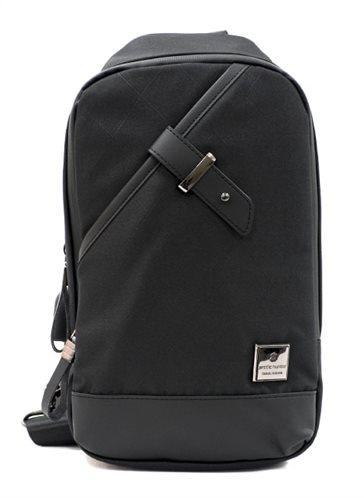 ARCTIC HUNTER Τσάντα Crossbody XB00089-BKRMB USB αδιάβροχη μαύρη