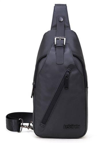 ARCTIC HUNTER τσάντα Crossbody XB13006-BK αδιάβροχη μαύρη